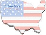 50 Sheet 4 x 3 USA Sticky Notes